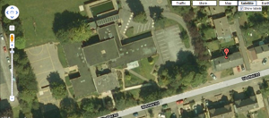 Aerial view of Westfield CP School